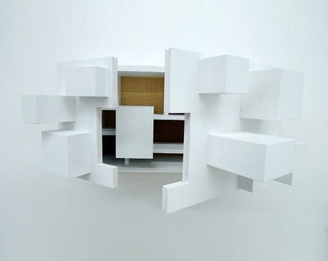 Cabinet Design imploding white cabinet design | love interior | pinterest