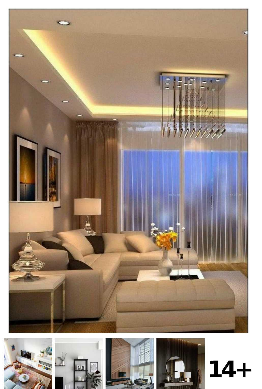14 Contemporary Living Room With Tv Ideas In