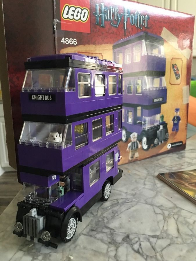 Lego Harry Potter 4755 Knight Bus 100 Complete W Instructions
