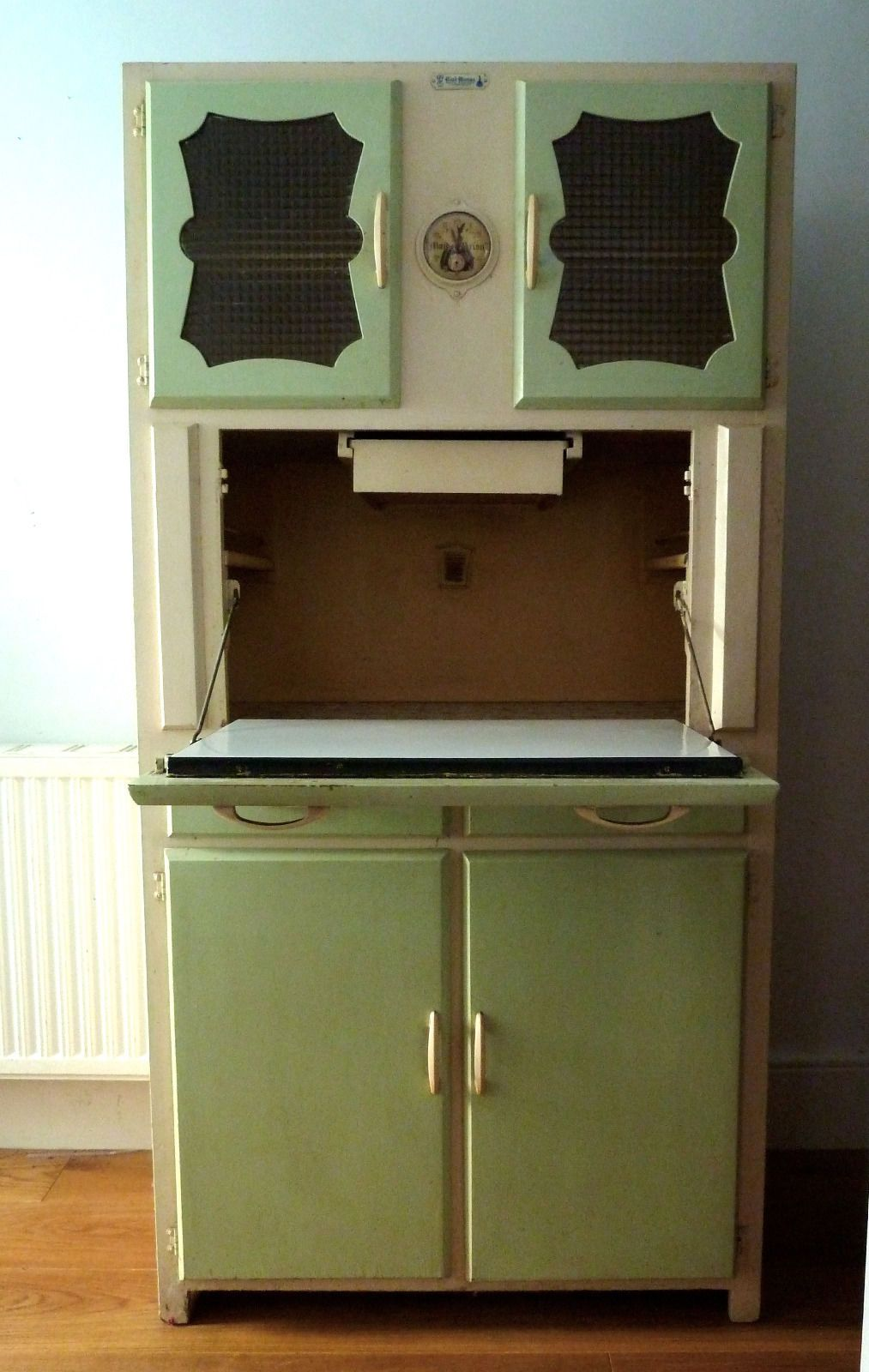 "1950S Kitchen Cabinets Vintage ""Maid Marion"" Retro Kitchen  Kitchenette Unit1950S"