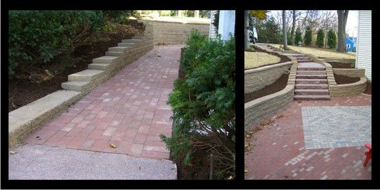 This Space Benefited From A Replacement Retaining Wall