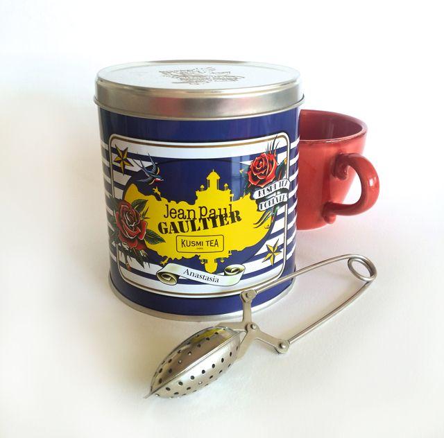 kusmi tea - édition limité Jean-Paul Gaultier