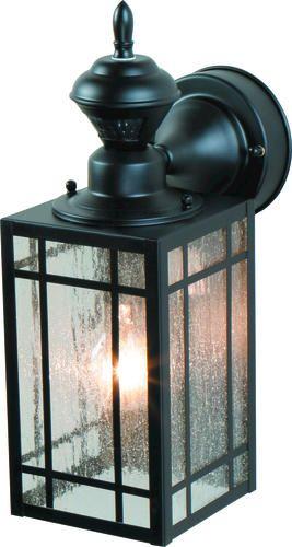 Shaker Point Mission 150 Degree Decorative Motion Detector At Menards Porch Lighting Motion Lights Outdoor Wall Lighting