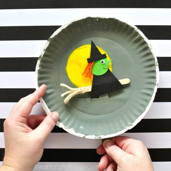 Photo of Playful Paper Plate Halloween Craft