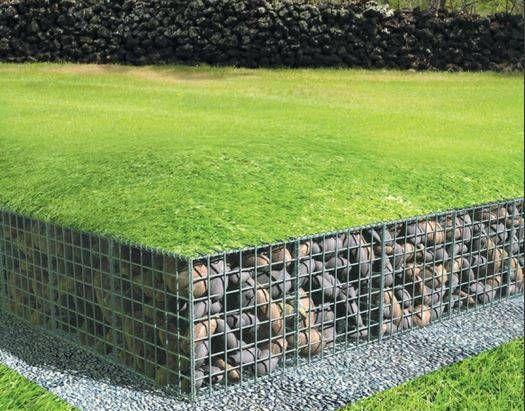 10 ventajas del uso de gaviones en el jardín Arch, Backyard and Patios