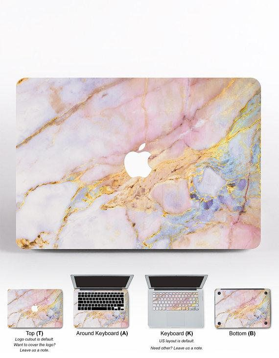 competitive price f7472 2a8c7 Pink Marble MacBook Air Case Marble MacBook Case Laptop Cover Laptop ...