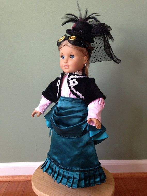 Victorian / Steampunk outfit for American Girl by CraftMeisters