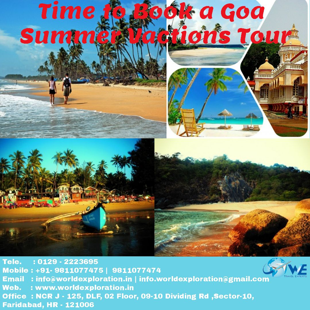 Its Time To Visit Goa So Book A Goa Summer Vacations Tour With We_travel_experts On
