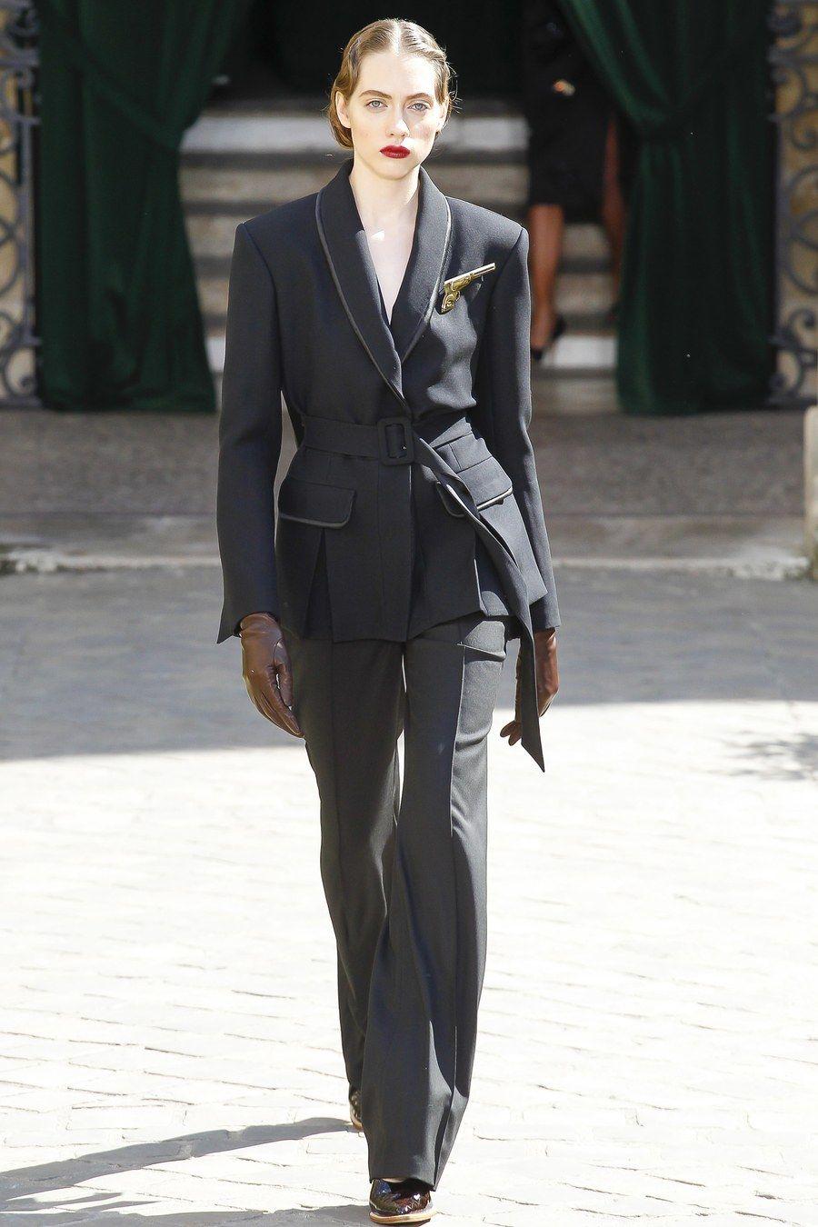 Ulyana Sergeenko Fall 2017 Haute Couture via Vogue