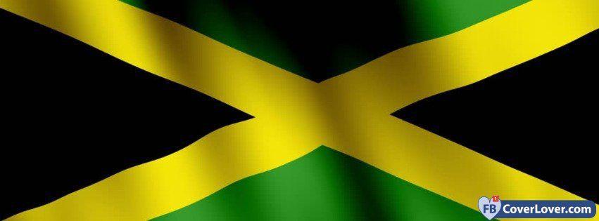 Jamaica Flag - cover photos for Facebook - Facebook cover