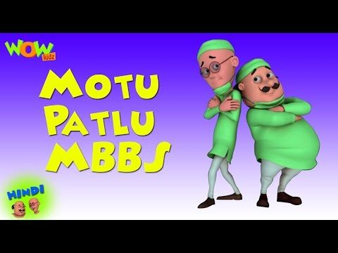 2 Motu Patlu Mbbs Motu Patlu In Hindi 3d Animation Cartoon For