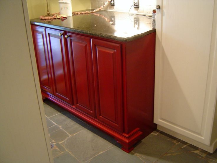 Hide Washer And Dryer Cabinets | Custom Made Washer And Dryer Cabinet