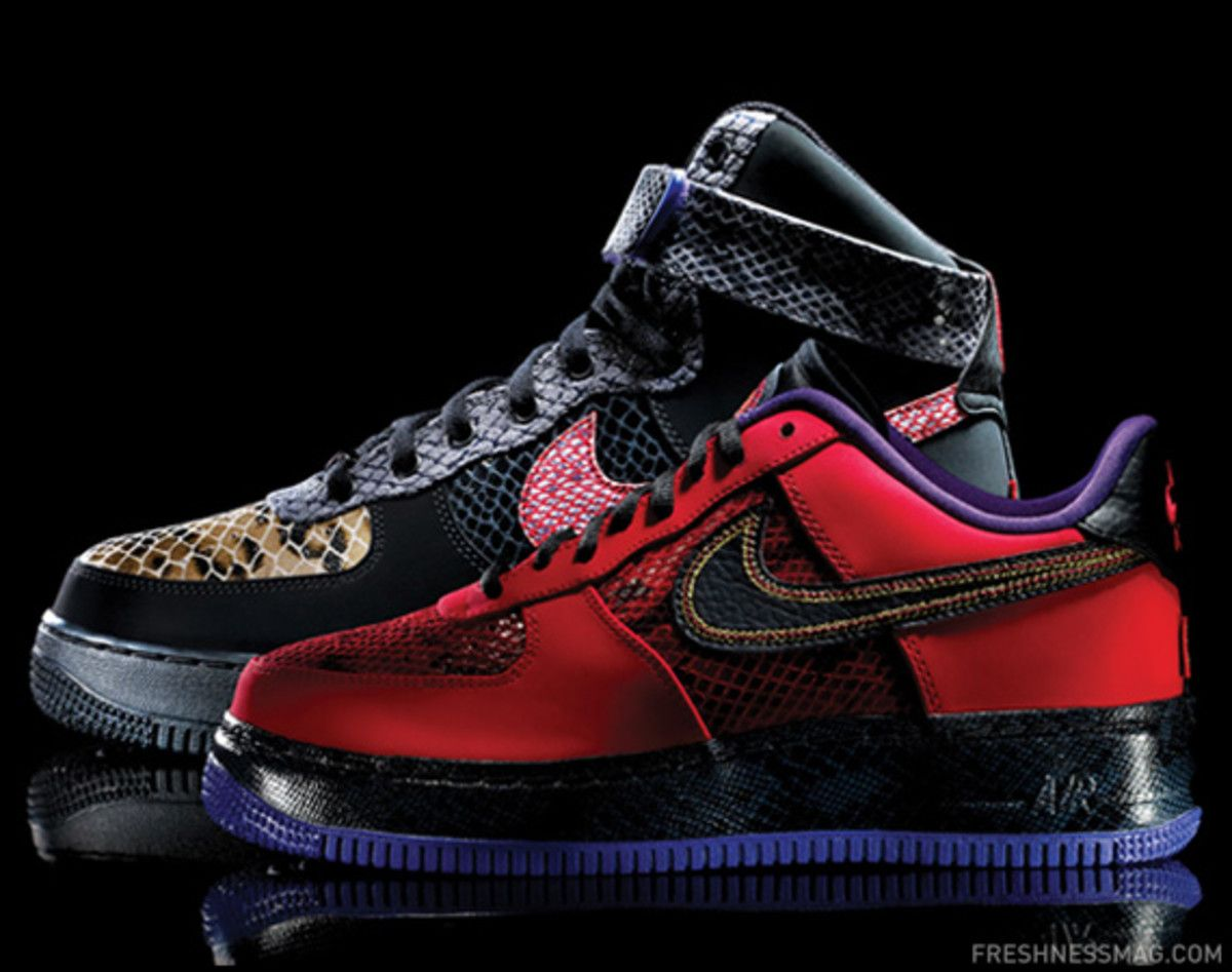 newest collection 6536a a1eff As we inch ever closer to the start of Chinese New Year on February 10th,  Nike finally showcased its designs for the Air Force 1