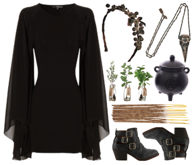 Pin By Morgana Krinsley On Witch Wear Witchy Outfit Witch Outfit Fashion