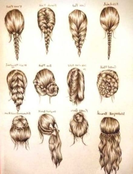 New Hair Drawing Back Hairstyles 33+ Ideas