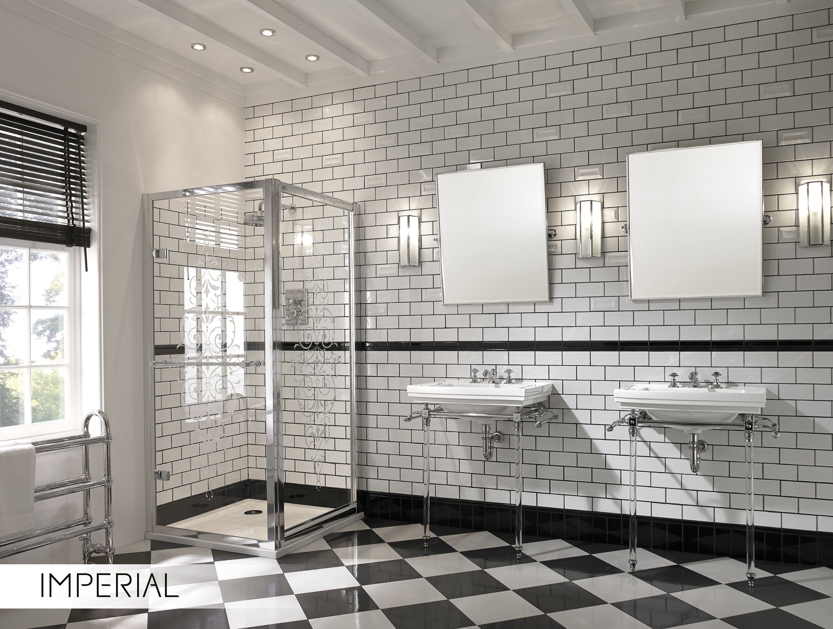 Beautiful and timeless bathroom design_ Astoria Deco Collection by Imperial  Bathrooms