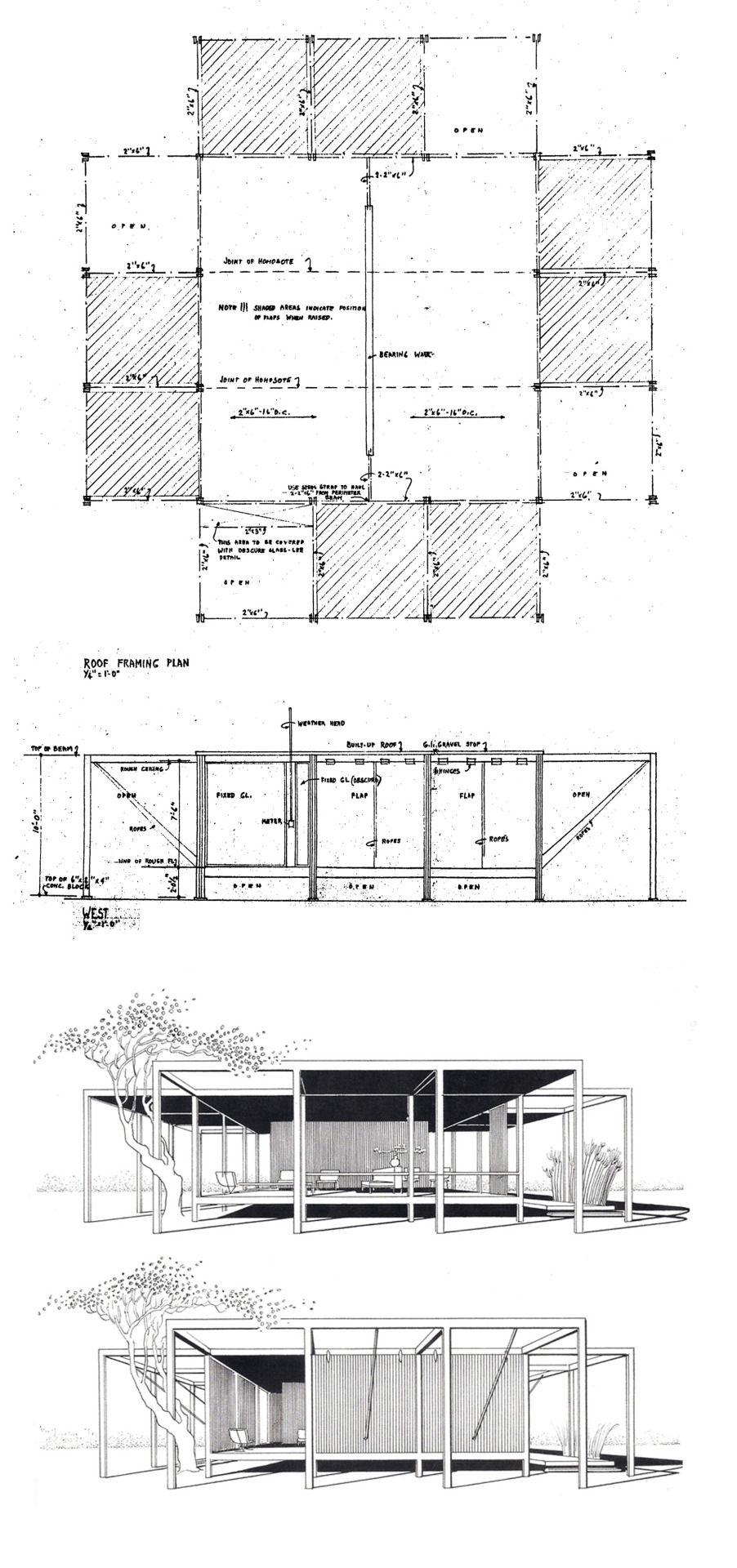 Modern Plans Building Century Mid
