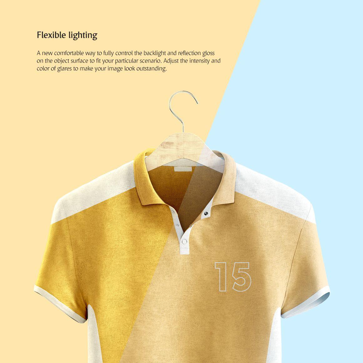 Download Polo Shirt Animated Product Mockup 68856 เส อเช ต