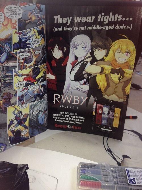 Best RWBY advertising! Roosterteeth is the best!!! | RWBY