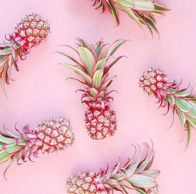 Pink pineapple love! Розовые фоны, Рисунки и Текстильные