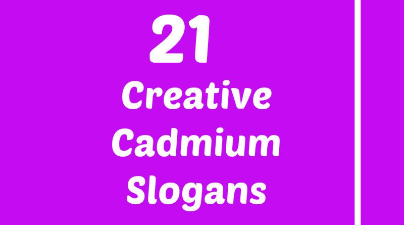 Cadmium Slogans Element Slogans Pinterest Slogan Atomic