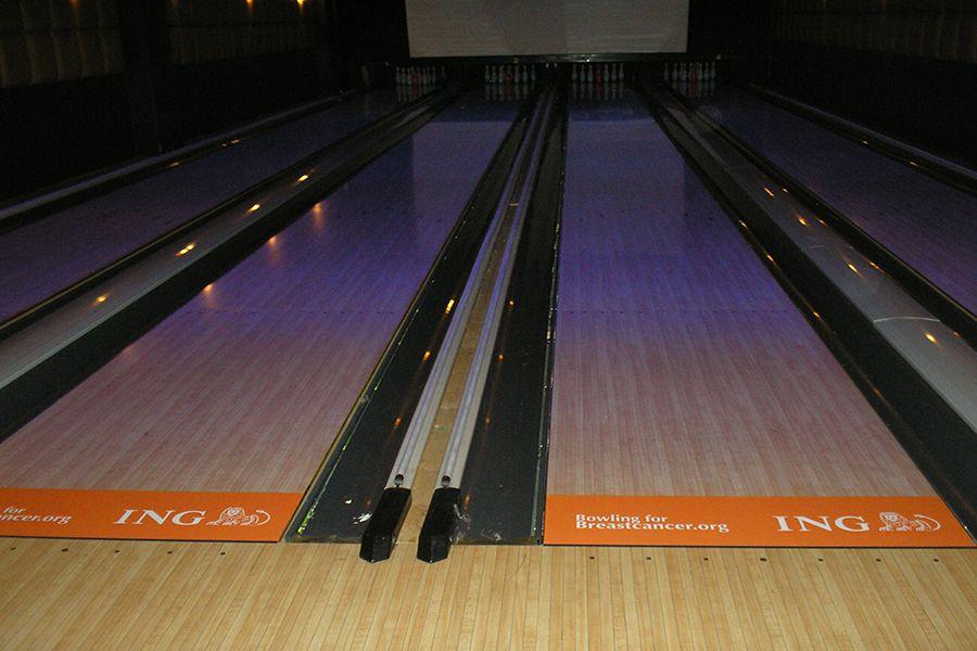 Custom Adhesive Floor Graphics Brand Bowling Promo Event Ing Floor Graphics Custom Floor Flooring