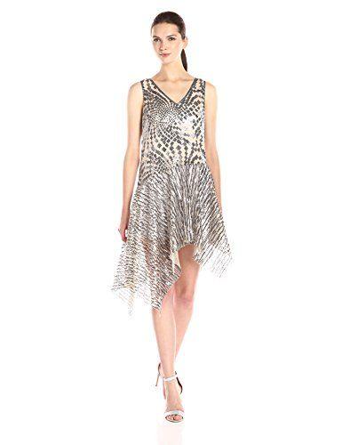 Silver Asymmetrical Dresses