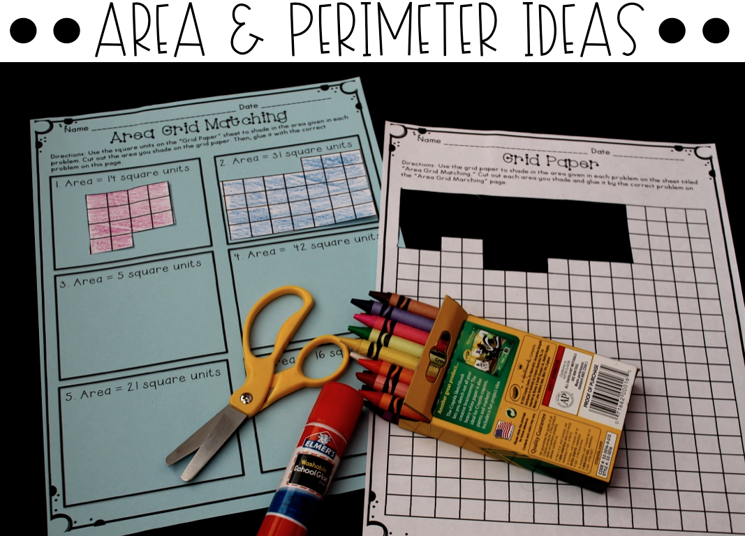 Area And Perimeter Activities And Resources Games