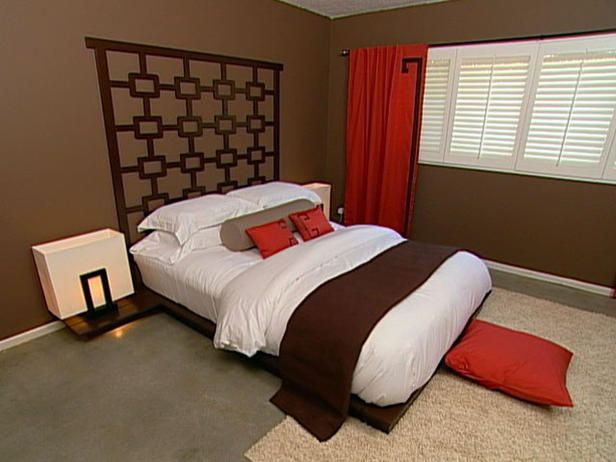 Modern Asian Bedroom : Archive : Home & Garden Television