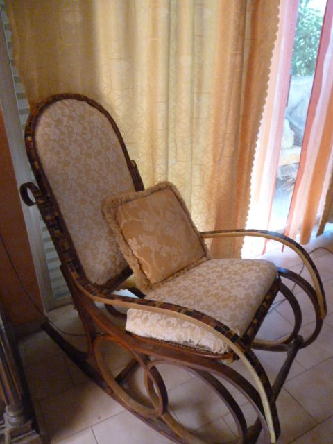 old rocking chair remodelled