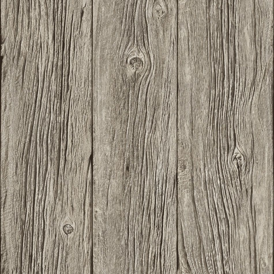 Holzvertäfelung Tapete Grey J02408 Realistic Grained Wood Panel Muriva Wallpaper