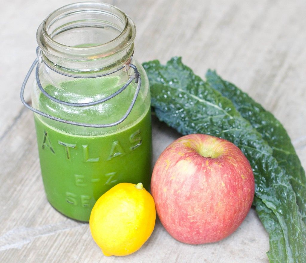 A delicious green juice recipe