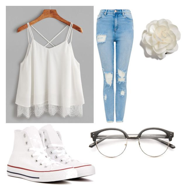 """""""School day"""" by mermaidgirl901 on Polyvore featuring Converse and Cara"""