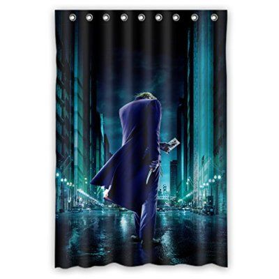 Custom Waterproof Bathroom Shower Curtain 48 X 72 Cool Joker