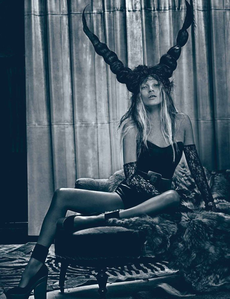 Kate Moss photographed by Steven Klein, 2012. #Thefashionspot