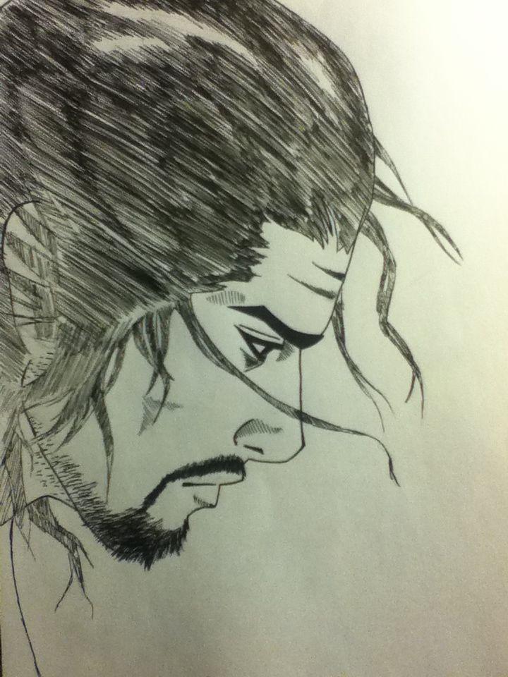 The Face of  a Hero. Miyamoto Musashi