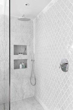 Notting Hill mid century refurbisgment contemporary Bathroom