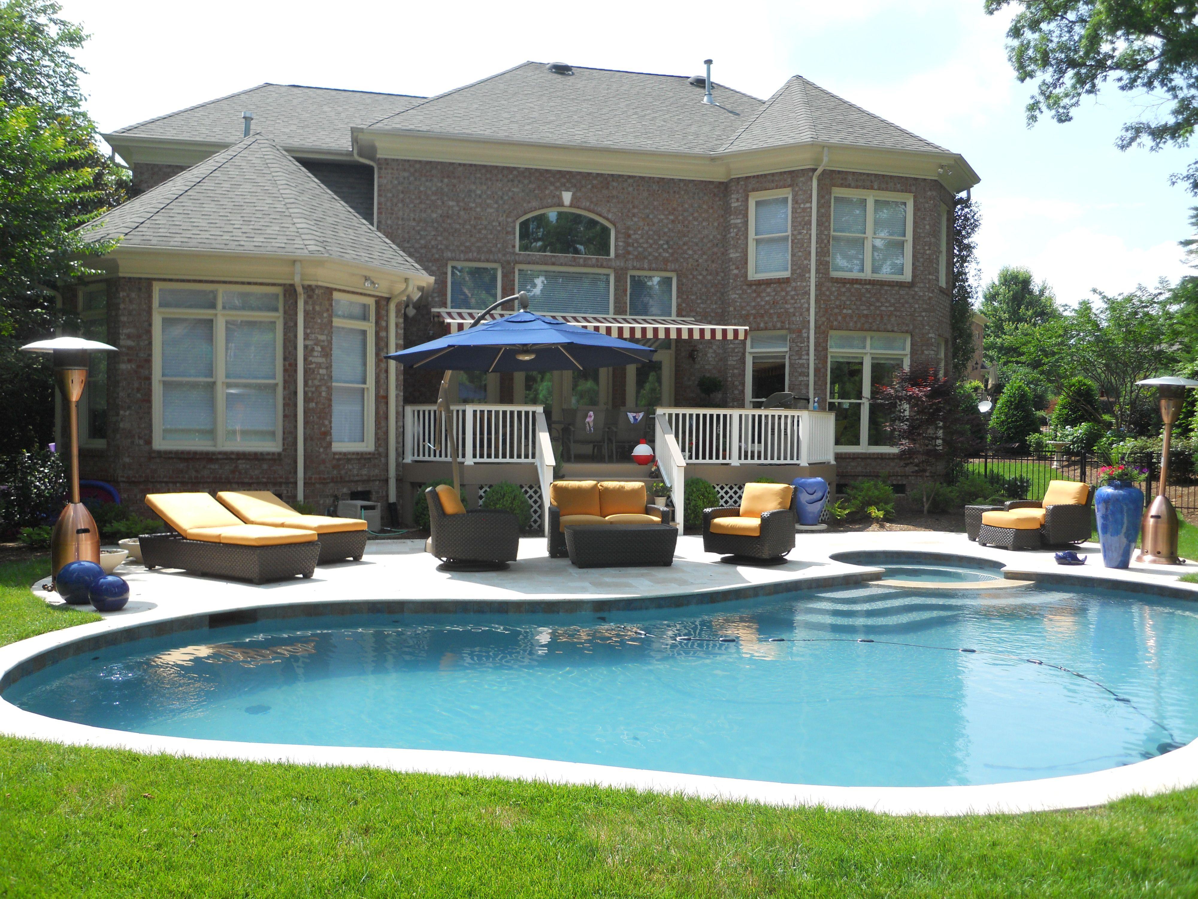 backyard pool and playground google search pool ideas