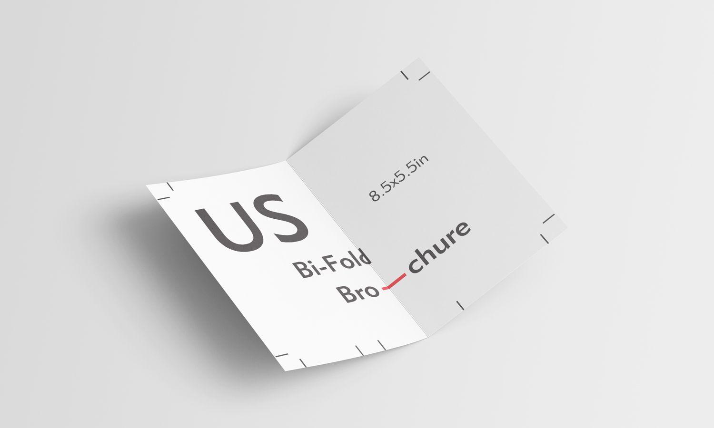 Bi Fold Brochure Free Mockup 8 5 X 5 5 Inch Bi Fold Brochure Free Mockup Free Photoshop Mockups