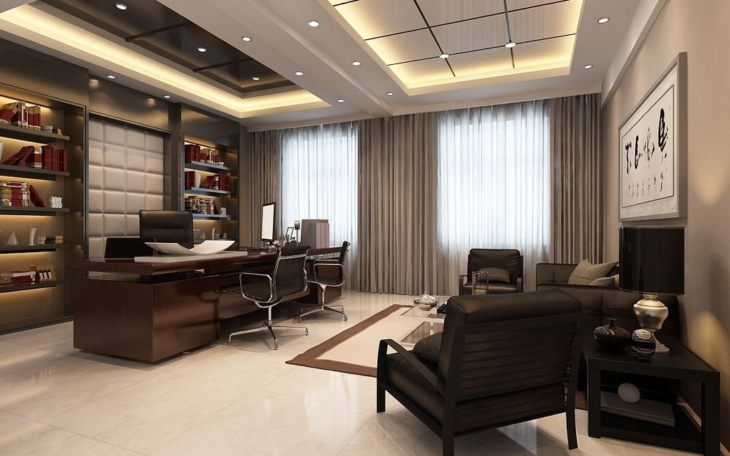 Luxury Executive Office Design Ideas