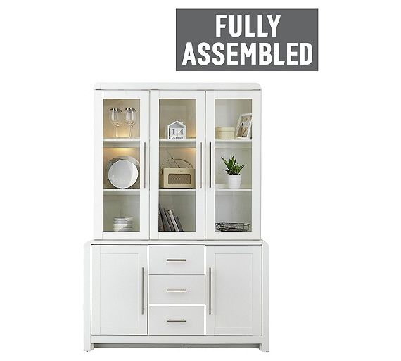 Buy Heart Of House Elford 5 Door 3 Drawer Display Unit