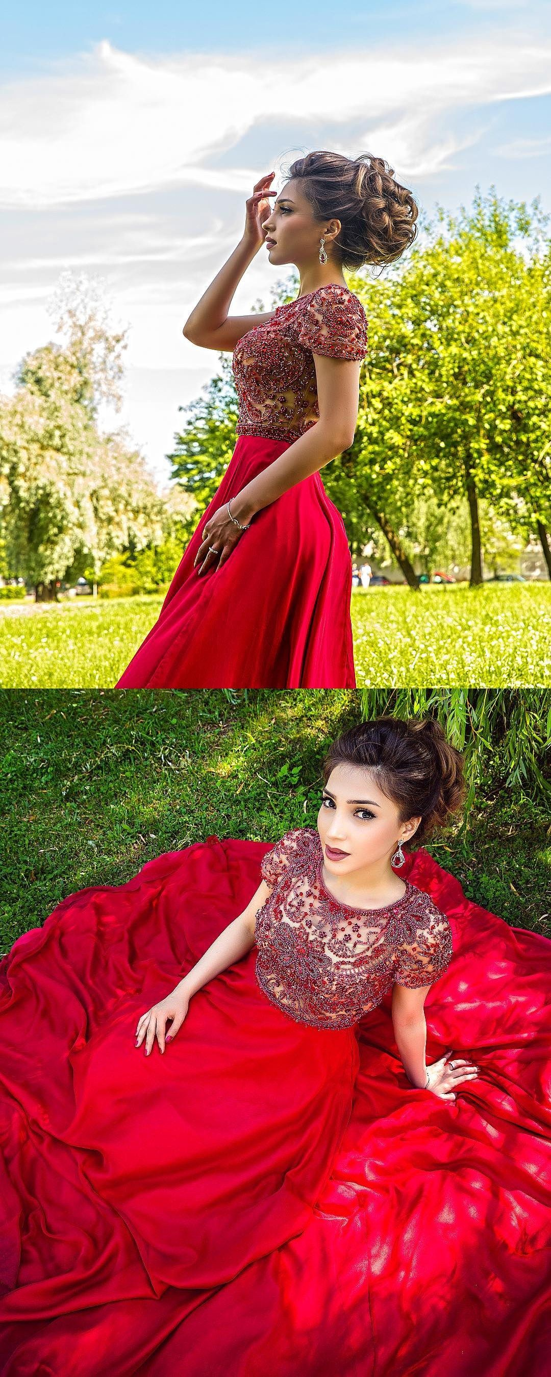 Sparkly long prom dressprom dress with rhinestonesprom dress with