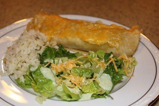 Cafe Rio Sweet Pork Burrito & Salad imitators   - Things I love... -