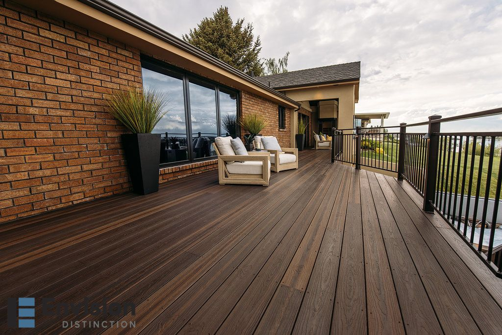 Take Your Outdoor Living Space To A Higher Tier Of Style And Comfort With Inviting Color Selections Across All Lines Of C Composite Decking Deck Outdoor Living