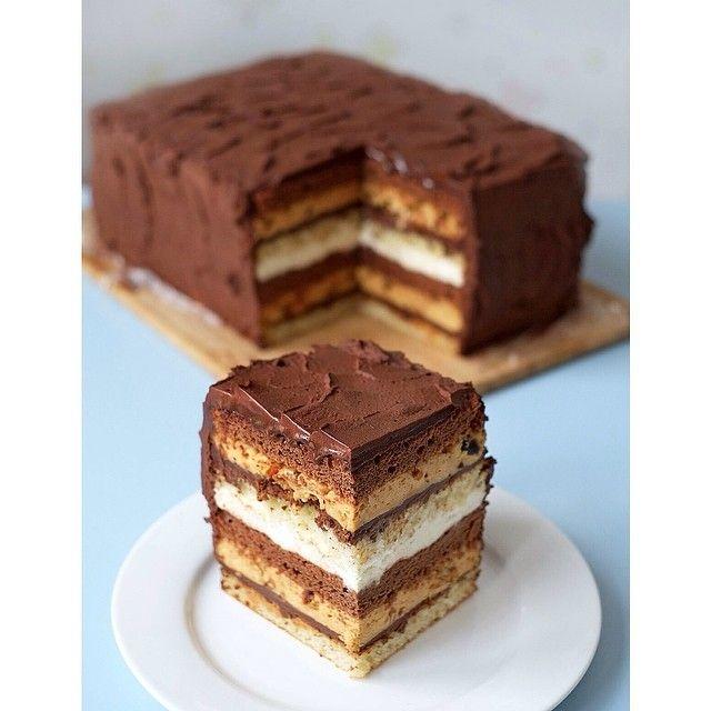 торт сникерс рецепт с бисквитом джоконда и шантильи