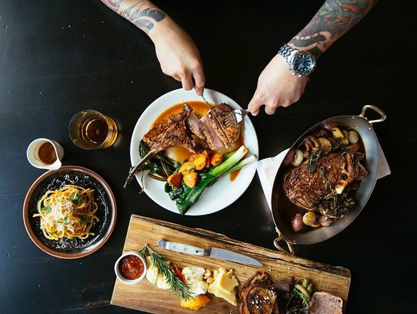 49ec3d537474d3 Chef John Shaw serves a delectable menu of dishes that go beyond the grill  at Steak   Whisky