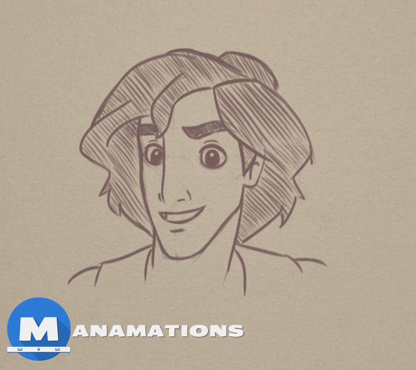 Welcome to this Quick Sketch episode. Today we are sketching Disney's Aladdin in Sketchbook PRO. This fella is a tough …