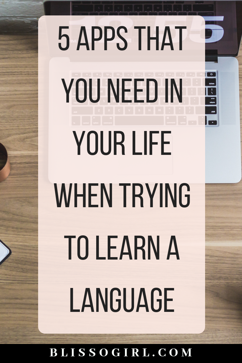 5 Apps That You NEED In Your Life When Trying To Learn A