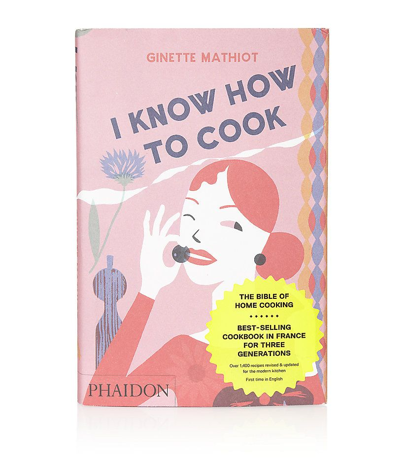 """With over 1,400 quintessential French recipes for the chef-to-be, """"I Know How To Cook"""" has been around since 1932, and will look lovely in your kitchen for generations to come. Get it on SQUA.RE now."""