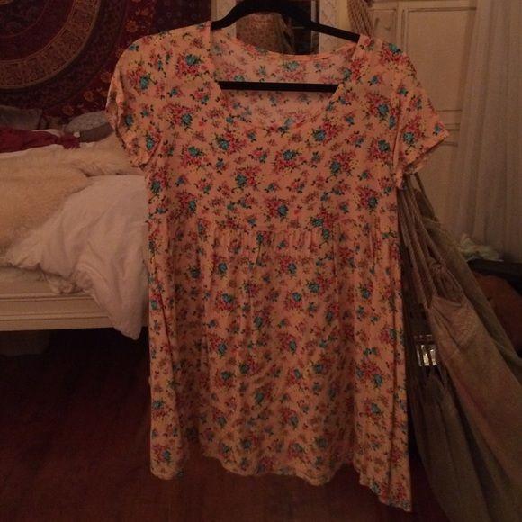 american apparel babydoll dress childs L (12) but fits adult xs/s American Apparel Dresses Mini